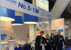 Ocean Treasure participate to Seafood Expo Brussel